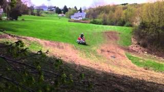 9. 2010 polaris outlaw 525s quad riding
