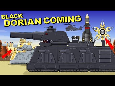 """""""Black Dorian Coming"""" Cartoons about tanks"""