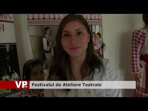 """Festivalul de Ateliere Teatrale """"Ion Manolescu""""."""