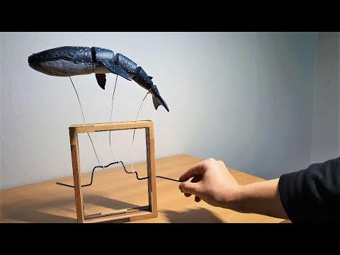[3d pen] 3D펜으로 만든 고래 오토마타 : Making whale automata