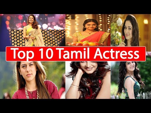 Top 10 Tamil Actress
