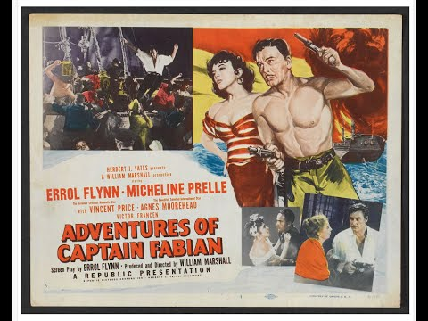 The Fantastic Films of Vincent Price # 26 - Adventures of Captain Fabian
