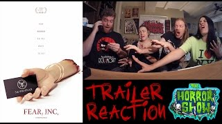 """Fear, Inc."" 2016 Trailer Reaction - The Horror Show"