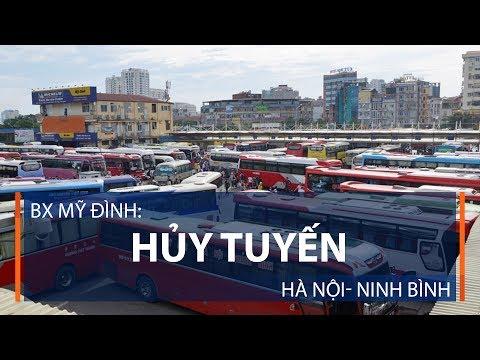 BX Mỹ Đình: Hủy tuyến Hà Nội- Ninh Bình | VTC1 - Thời lượng: 55 giây.