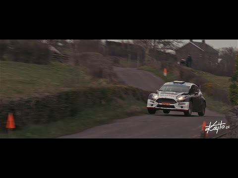 Circuit of Ireland Rally 2015 Kajetanowicz/Baran - Day 2 highlights