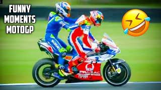 Top 7 MOTO GP LUCU   funny top 7 motogp