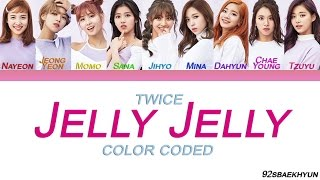 Twice (트와이스) - JELLY JELLY |Sub. Español + Color Coded| (HAN/ROM/ESP)