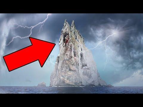 Esta  Extraña Isla Ha Estado Guardando Un Secreto Durante 80 Años