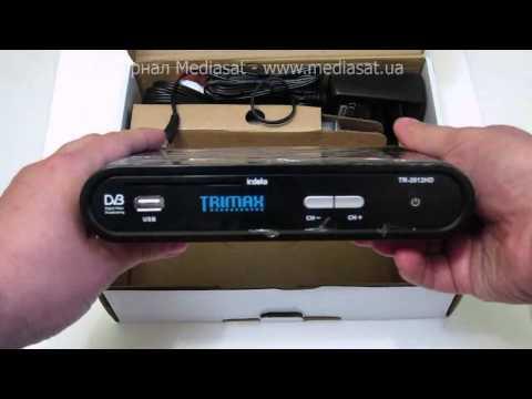 Цифровой эфирный ресивер Trimax TR-2012 HD (unboxing)