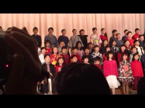手稲東小学校 学習発表会 小学4年生