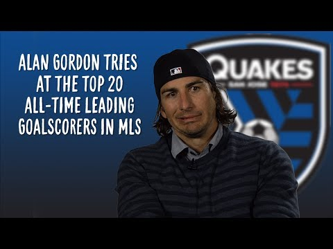Video: Alan Gordon takes the MLS leading goalscorer quiz | MLS Trivia