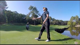 Romain Bechu, il funambolo del golf