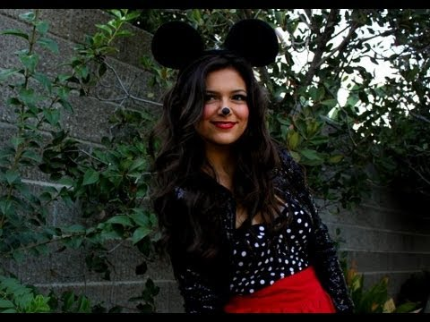 Minnie Mouse DIY Halloween Costume!