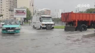 أمطار وفيضانات بطنجة