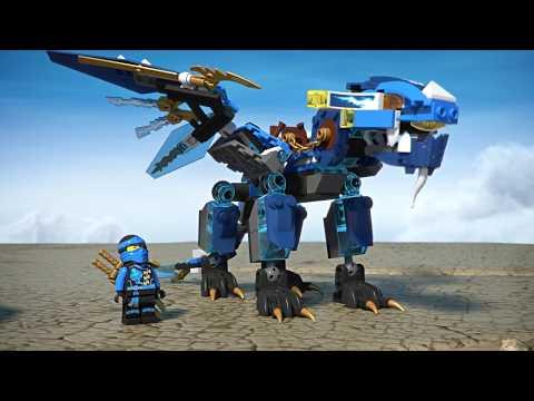 Конструктор BELA «Дракон стихий Джея» 10446 (Аналог LEGO 70602), 349 деталей