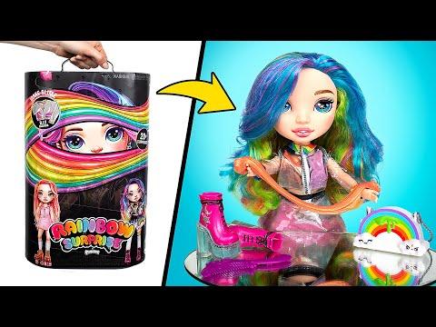 Ini dia Rainbow Dream! Membuka Boneka Poopsie BARU