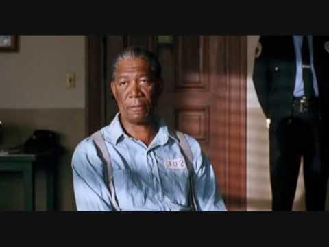 Morgan Freeman - The Shawshank Redemption -Montage rehabilitated prisoner - 40 years