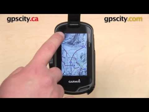 Garmin Oregon 600 Series: Map Setup with GPS City