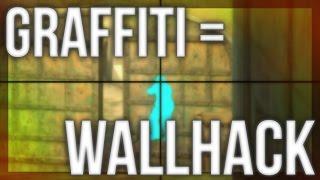 GRAFFITI GLITCH - SPRAYS GIVE WALLHACK