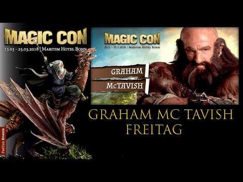 MagicCon (2018) Fr. Panel Graham Mc Tavish