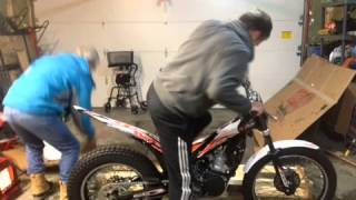 9. Setting up a 2014 Beta Evo 300 made with Videoshop