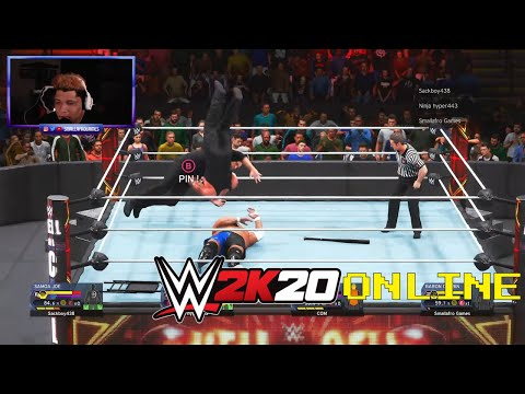 WWE 2K20 Online - IS THIS ALLOWED ON YOUTUBE?
