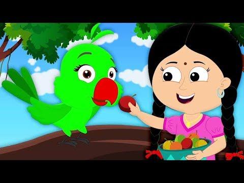 Ata Gache Tota Pakhi | বাংলা নার্সারি ছড়াগুলি | বাঙ্গালী বাচ্চাদের গান | Bengali Nursery Rhymes