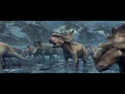 Walking with Dinosaurs Clip 'Thin Ice'
