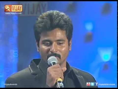 Awards - 8th Annual VIjay Awards | Entertainer of the year! Actor Sivakarthikeyan receives the Entertainer of the year Award in 8th Annual Vijay Awards. Click here http://youtu.be/0fefmxozuts to watch...