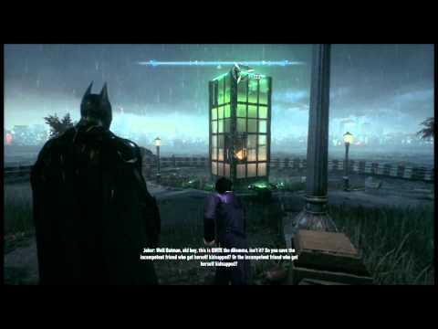 lets play batman arkham knight part 6 riddle me fuck you