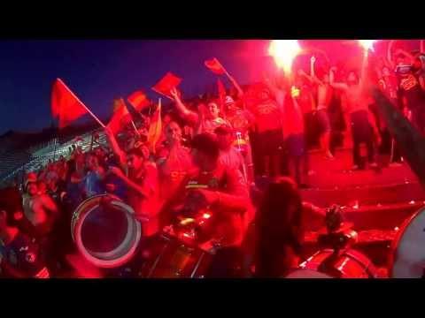 salida furia roja en el nuevo gasometro!! - Fúria Roja - Unión Española
