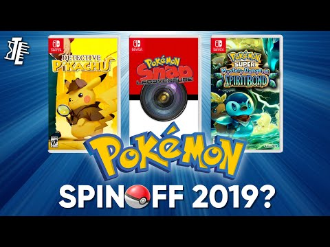 NEW Pokémon Spin-Off Game coming in 2019? | Detective Pikachu on Switch? (Theory/Discussion)
