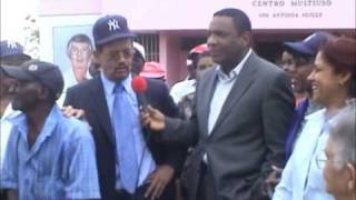 CPF on Yoryi Castillo show in Dominican Republic Dec 2008 Part 2