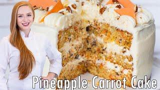 Pineapple Carrot Cake Recipe by Tatyana's Everyday Food