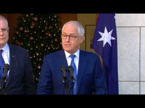 Turnbull Announces Banking Royal Commission Nov 30, 2017