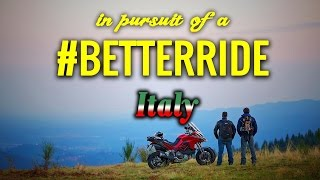 #BetterRide w/ Alex Chacon and Bosch in Italy