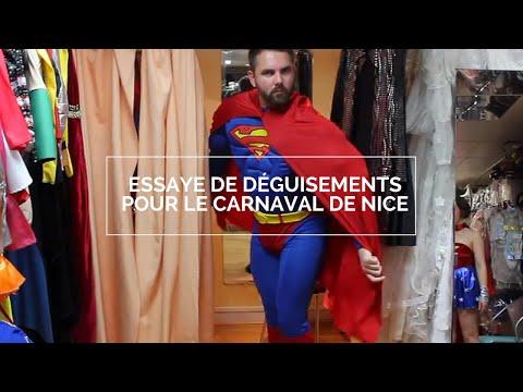 Essayage des déguisements avant le carnaval de Nice