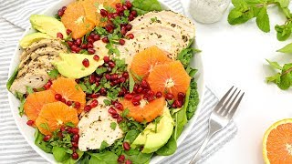3 PROTEIN PACKED Salad Recipes | Healthy Meal Plans by The Domestic Geek