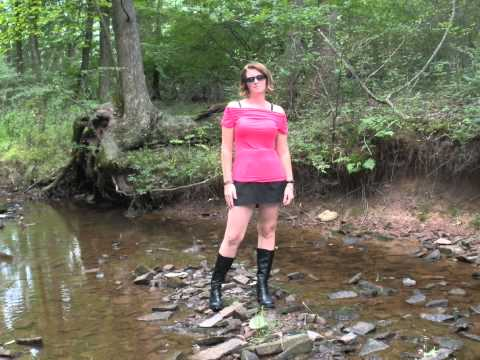 boots in wet