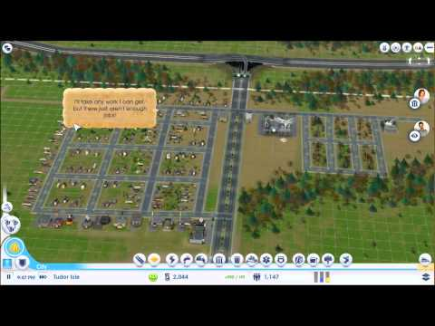 Simcity 2013 Deluxe Ediition Gameplay Single Player - Contruindo Londres - SIMCITY HD #1 (видео)