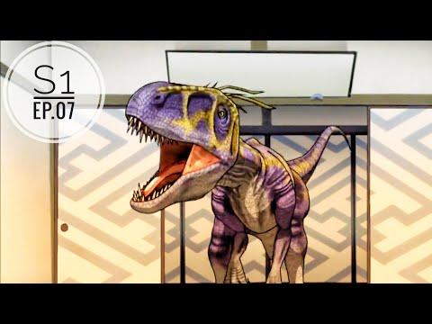 Dinosaur King(hindi) Ep.7 | Season 1| A Game Show Showdown |Utahraptor|