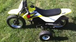 4. 2004 Suzuki Jr50 w/training wheel kit! C&C Sports, Brighton MI 48114