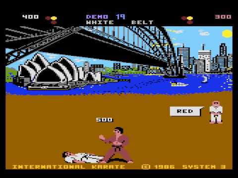 international karate atari 800