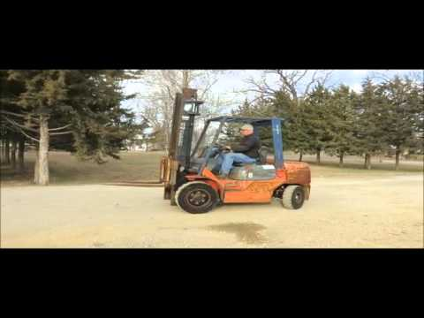 Toyota 7FDU32 forklift for sale | sold at auction February 25, 2015