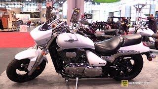 10. 2015 Suzuki Bouleverd M50 - Walkaround - 2014 New York Motorcycle Show