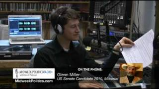 Anti-Jewish Racist Candidate Glenn Miller Interview - Part 2 Of 2
