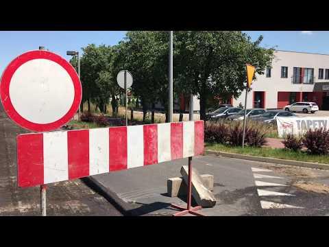 Wideo1: Drugi etap przebudowy Osieckiej w Lesznie