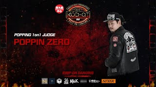 Poppin Zero – 2019 KOD-QT Popping JUDGE SOLO