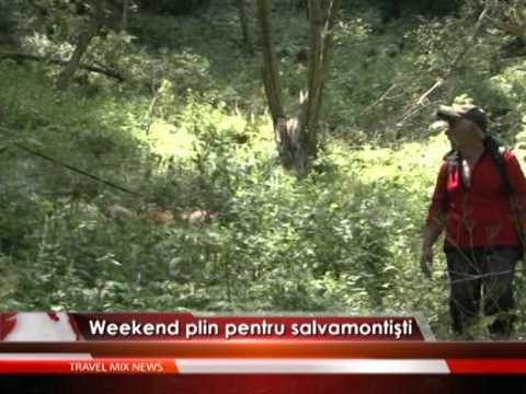 Weekend plin pentru salvamontişti – VIDEO