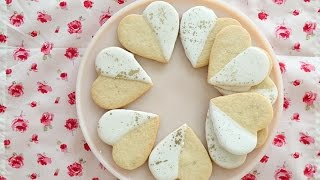 Iced Heart Sugar Cookies- Sweet Talk with Lindsay Strand by Everyday Food